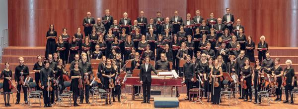 Die Ensembles des Weihnachtsoratoriums im Europa-Park.