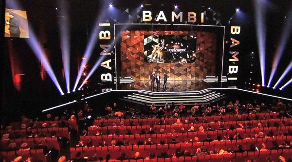 BAMBI 2019 im Festspielhaus in Baden-Baden  TV-Bild