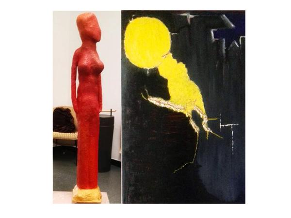 Kunstausstellung im Kurhaus Freiamt - Elke Eichhorn-Kilian und Werner Schrögendorfer stellen aus