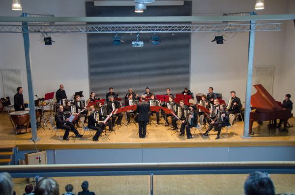 Das Projekt-Orchester 2017 in Tutschfelden