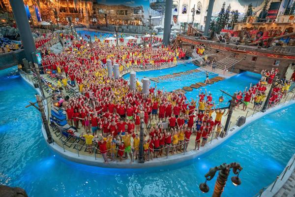 3.400 Mitglieder kamen am 23. November zum größten Treffen der DLRG zusammen.