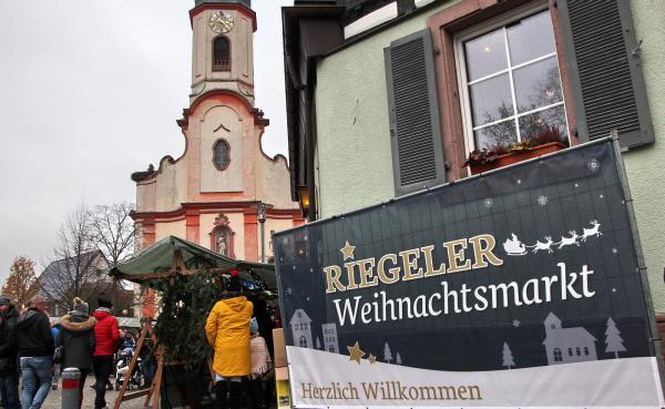 Weihnachtsmarkt Riegel  Bild: FSRM
