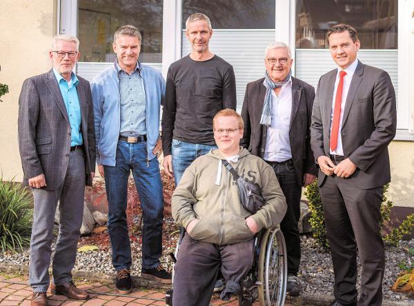Lebenshilfe Elzach leistet viel - SPD-Bundestagsabgeordneter Fechner zeigte sich nach Besuch beeindruckt.  Foto: Büro Johannes Fechner