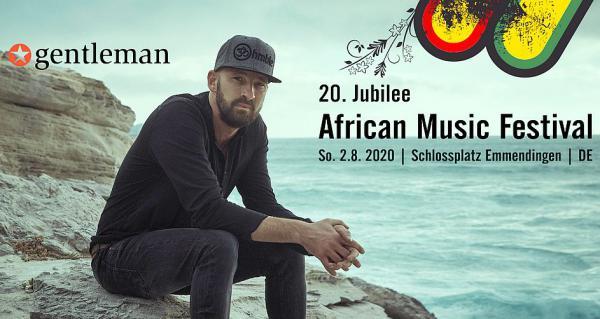 """2. August 2020: Reggae Super-Star """"Gentleman"""" kommt nach Emmendingen.  Foto: Veranstalter"""