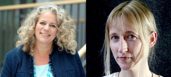 SWR Experimentalstudio e.V. in Freiburg bekommt neue Vorsitzende - Anke Mai (links) und Lydia Jeschke wurden bei Mitgliederversammlung des Vereins gewählt.  Foto: Südwestrundfunk