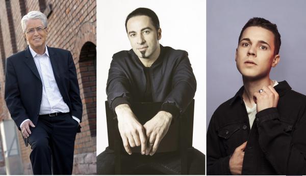 Radio Regenbogen Award für (von links) Fernsehlegende Frank Elstner, Comedy-Gott Bülent Ceylan,  Star-DJ Felix Jaehn    Bilder: Tower Media