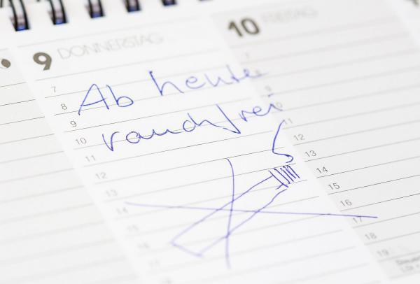 Professionelles Rauchfrei-Programm - Kurs zur Raucherentwöhnung am Universitäts-Herzzentrum in Bad Krozingen im Januar 2020.  Foto: Universitäts-Herzzentrum Freiburg ∙ Bad Krozingen GmbH