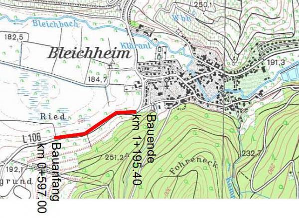 Planfeststellungsverfahren für Amphibienleitsystem an Landesstraße 106 bei Herbolzheim-Bleichheim eingeleitet - Planunterlagen werden ab 17. Dezember bei der Stadt Herbolzheim ausgelegt.  Foto: Büro für Landschaftsplanung Zurmöhle, Waldkirch