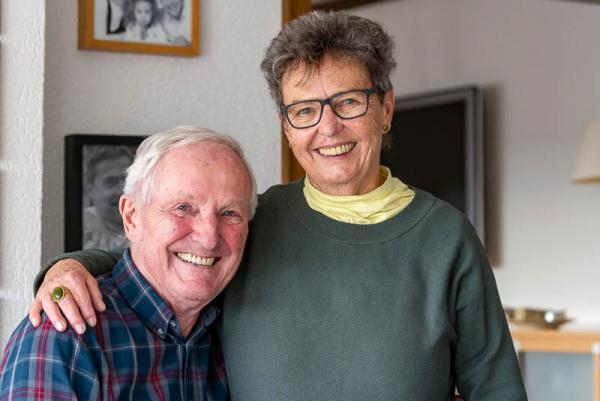 Starkes Team: Fritz Schlotter und Waltraud Schlotter
