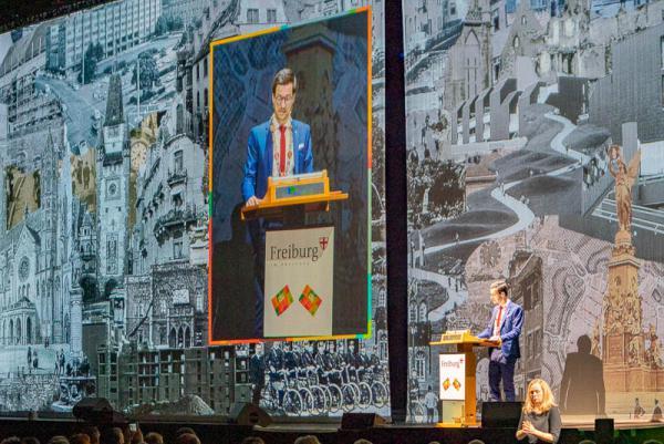 Neujahrsempfang 2020 in Freiburg  Alle REGIOTRENDS-Fotos: Jens Glade