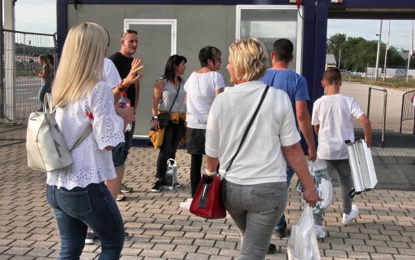 Abschied für immer? Das waren die letzten Besucher der BadenMesse 2019!  Bild: RT-Archiv