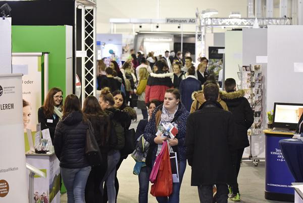12. bis 14. März, Jobs for Future in Villingen-Schwenningen  Foto: SMA Südwest Messe- und Ausstellungs-GmbH/Roland Sigwart