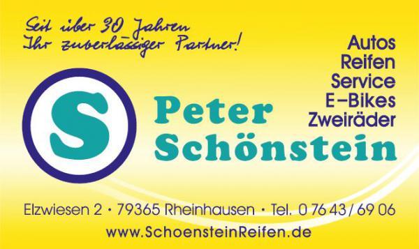 Reifen Zweirad Schönstein | Elzwiesen 2, 79365 Rheinhausen,Tel. 07643/6906, Fax  07643/6959, Handy 0171/3333682