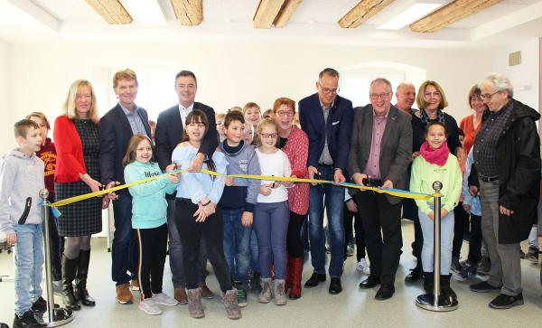 Neues Klassenzimmer für Grundschule in Bad Krozingen-Tunsel - Ehemaliges Lehrerwohnhaus wurde umgebaut.  Foto: Stadt Bad Krozingen