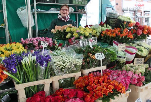 """""""Valentins-Markt"""" am heutigen Freitag in Emmendingen  Bild: FSRM"""