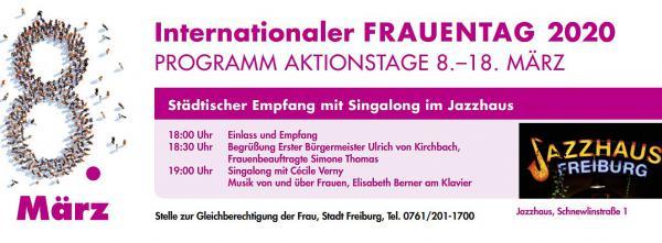 8. März: Internationaler Frauentag - Aktionstage mit 38 Veranstaltungen in Freiburg bis 18. März - Programm ist bei der Stelle zur Gleichberechtigung der Frau und online erhältlich.  Foto: Stadt Freiburg
