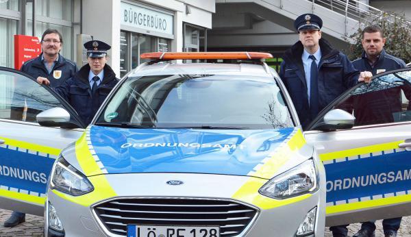 Ordnungsdienst in Rheinfelden hat Tätigkeit aufgenommen. Das Team des Orndnungsdienstes.  Foto: Stadt Rheinfelden