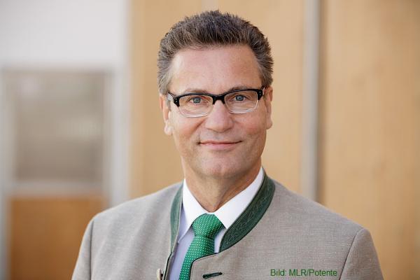 Minister für Ländlichen Raum und Verbraucherschutz, Peter Hauk