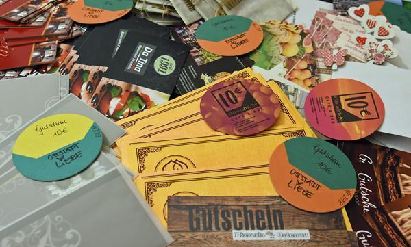 Gutschein-Aktion zur Unterstützung der Gastro-Szene in Offenurg geht erfolgreich weiter  Bild: Stadt Offenburg