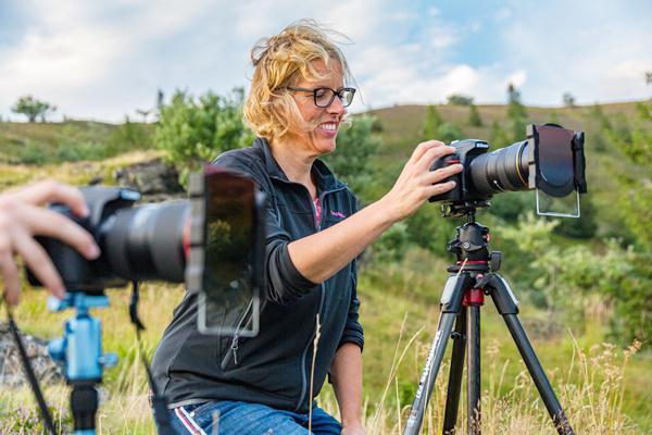 Spannende Bilder können die Teilnehmerinnen und Teilnehmer beim abendlichen Fotospaziergang am Belchen aufnehmen.   Quelle: Sebastian Schröder-Esch/RP Freiburg