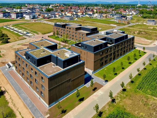 Der Campus mit 129 Wohneinheiten bietet Platz für mehr als 280 Mitarbeiter   Foto: Michael Thoma/Europa-Park