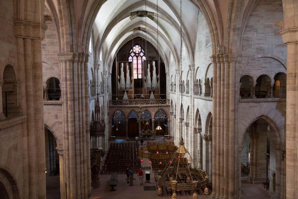 Die grösste und vielseitigste Orgel der Region: Die Mathis-Orgel im Basler Münster