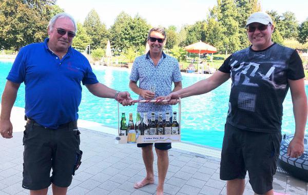 Abschluss einer besonderen Freibadsaison in Ettenheim gefeiert.  Foto: Stadt Ettenheim
