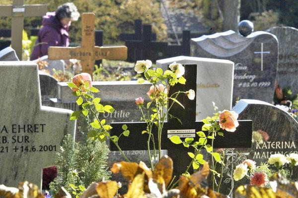 """29. September: """"Trauer verstehen"""" - Volkshochschule lädt zu Philosophie-Vortrag in Lahr ein. Der Lahrer Bergfriedhof.  Foto: Stadt Lahr"""