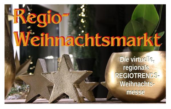 """Keine duftenden Weihnachtsmärkte mit Glühwein und Geschenktipps, nichts zum Anfassen, Riechen und Probieren!  Dafür viele Geschäfte, die sich im Corona-Jahr besonders um ihre Kunden bemühen!  SIE möchten mit Ihrem Unternehmen auf dem Regio-Weihnachtsmarkt dabei sein?  Tel. 07641-9330919 oder info@regiotrends.de   """"Stände"""" für soziale Anbieter!   Und wer sonst auf den Weihnachtsmärkten mit Selbstgemachtem oder Außergewöhnlichem dabei war (Schulen, Vereine, Förderkreise, Jugendgruppen, soziale Einrichtungen, ...), wird auch nicht  auf seinen Waren sitzen bleiben! REGIOTRENDS bietet dafür den virtuellen Weihnachtsmarkt an! Sagen Sie, was Sie haben, was Sie bieten und WO man dies anschauen, abholen und bestellen kann. Nutzen Sie dazu unseren Titelseitenzugang """"Hier schreiben Sie!"""", verfassen Sie einen (kurzen?) Text und verwenden Sie dann beliebig viele Bilder aus Ihrem Angebot! Auf unserer EXTRA-Themenseite finden Sie dann den Link zu Ihrem Angebot.  - Fragen? Tel. 07641-9330919 oder info@regiotrends.de"""