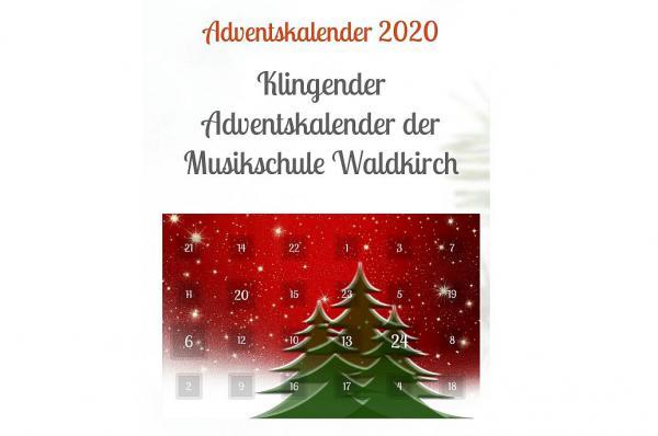 Hinter jedem Türchen ein kleines Konzert - Klingender Adventskalender der Musikschule Waldkirch.  Foto: Stadt Waldkirch