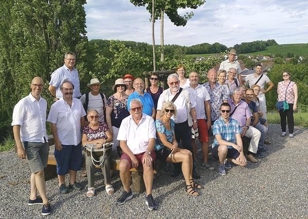 Sommertreffen. 2019 trafen sich die beiden Partnergemeinden bei herrlichem Sonnenschein.   Foto: privat/Stadt Offenburg