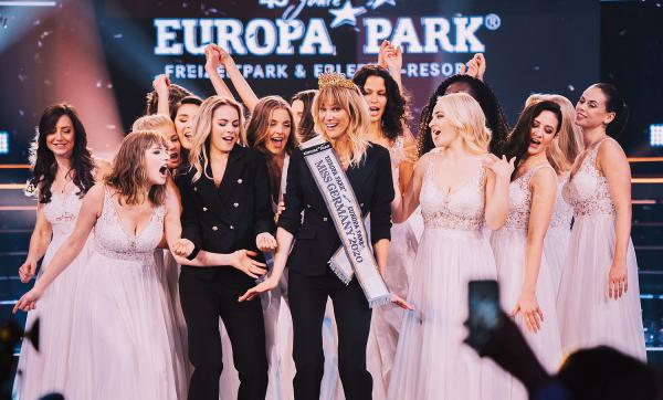 "27. Februar: ""Miss Germany""-Finale in der Europa-Park Arena in Rust wird durchgeführt. Miss Germany-Finale 2020 im Europa-Park.  Foto: Europa-Park"