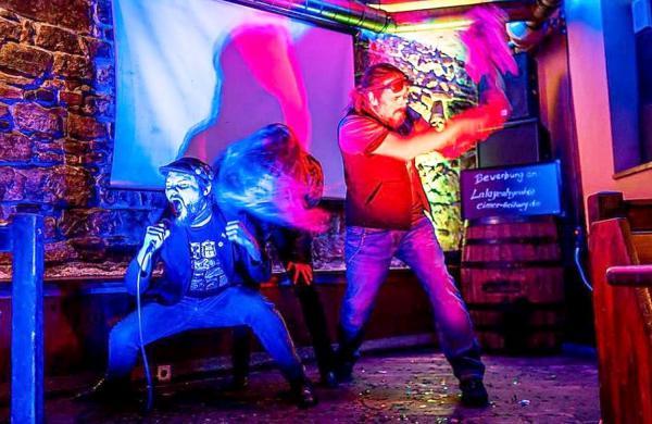 Veranstaltungen im Rahmen von infreiburgzuhause.de. Rockröhre.  Foto: Sparkasse Freiburg-Nördlicher Breisgau