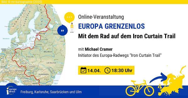 "14. April: ""Mit dem Rad auf dem Iron Curtain Trail"".  Foto: Stadt Freiburg"