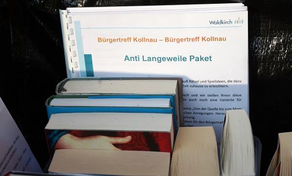 Einfach mal aus dem Alltag aussteigen und ein Buch lesen  Foto: Stadt Waldkirch