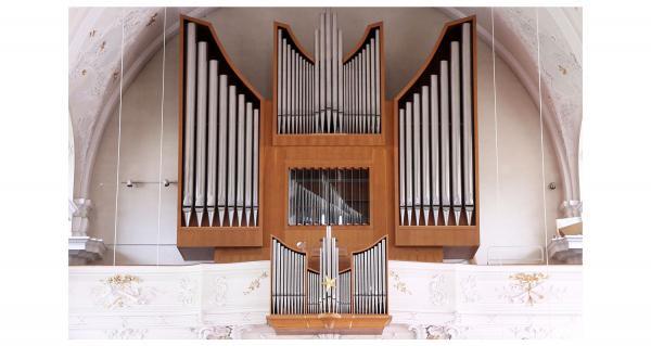 Jahr der Orgel: Vielfalt an Veranstaltungen in Waldkirch. Orgel in der katholischen Kirche Kollnau.  Foto: Stadt Waldkirch - Wolfgang Brommer