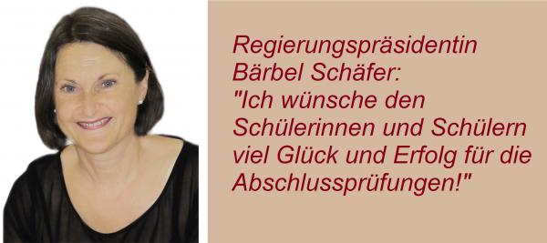 Regierungspräsidentin Bärbel Schäfer