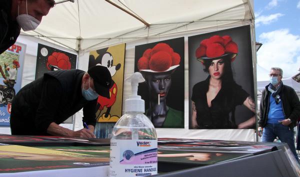 Pfingst-Künstlermarkt in Emmendingen  Bild: FSRM
