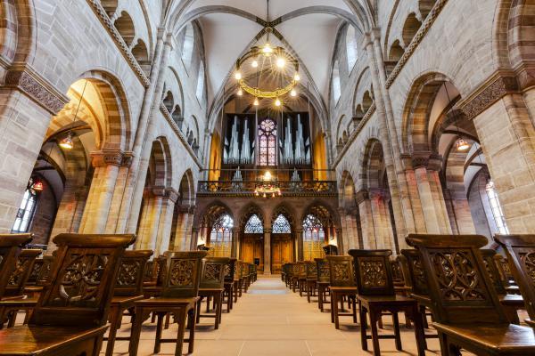 Klangraum Basler Münster mit der Mathis-Orgel