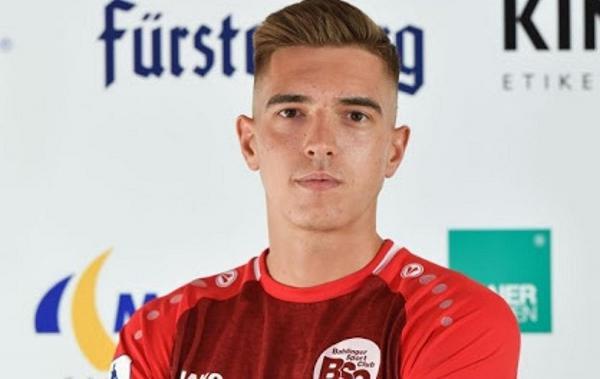 Fußball: Ylber Lokaj verlängert Vertrag beim Bahlinger SC.  Foto: Bahlinger SC - Claus G. Stoll