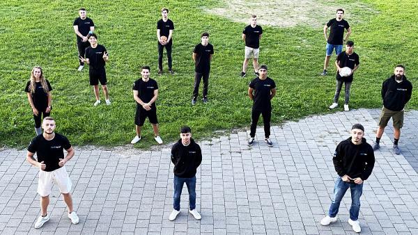 """""""Nachtsport"""" in Rheinfelden für Jugendbildungspreis """"DeinDing 2021"""" nominiert. Nachtsport-Team.  Foto: Stadt Rheinfelden"""