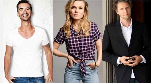 Florian Silbereisen, Ilse DeLange und Toby Gad suchen 2022 bei RTL für  DSDS neue Talente  Bild: RTL