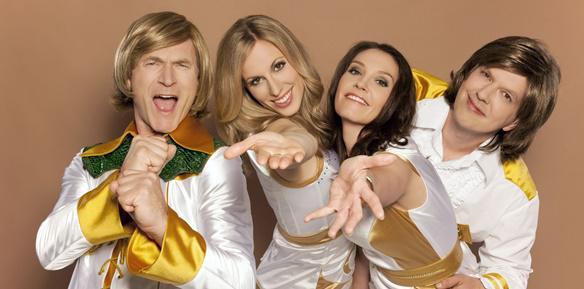 ABBA 99 - Schwedische Pop-Legende in neuem Glanz   Bild: ©2018 ABBA 99/Kur und Bäder GmbH