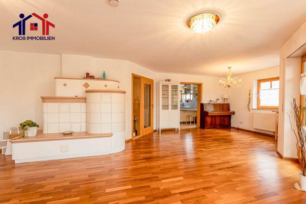 Home Staging eines Wohnzimmers - Vorher