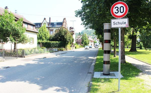 Zwei neue stationäre Geschwindigkeitskontrollgeräten im Landkreis Emmendingen. Herbolzheim (Rheinhausenstraße, Höhe Abzweigung Friedrichstraße).  Foto: Landratsamt Emmendingen