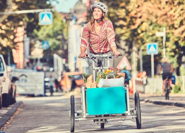Cargobike Roadshow (©Ministerium für Verkehr Baden-Württemberg, Heiko Simayer)