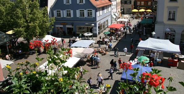 City-Flohmarkt in Offenburg  Bild: Stadt Offenburg