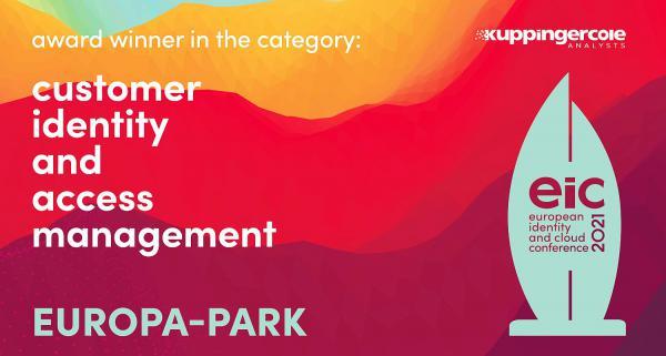 """Die Vielfalt des Europa-Park Resorts in einem Account - MackOne erhielt renommierten Digital-Award. Der  """"European Identity and Cloud Award"""" in der Kategorie """"Customer Identity and Access Management"""" ging in diesem Jahr an den Europa-Park.  Foto: Europa-Park"""