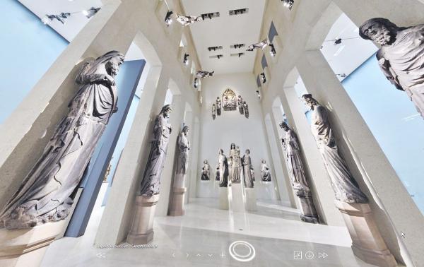 Neue 360-Grad-Rundgänge durch Museen in Freiburg - Neuer Service ist ab sofort online. Screenshot von einem der neuen Online-Rundgänge.  Foto: Stadt Freiburg - Städtische Museen Freiburg