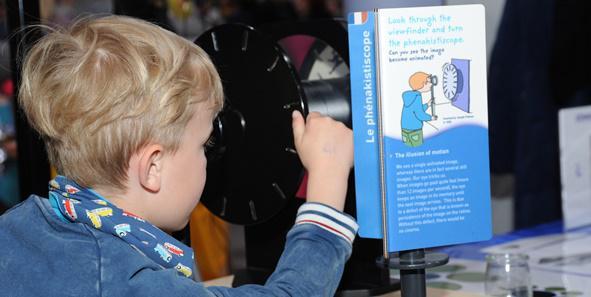 Junge Entdecker bekommen bei den Science Days neue Einblicke in die Welt der Wissenschaft.    Bild: Europa-Park